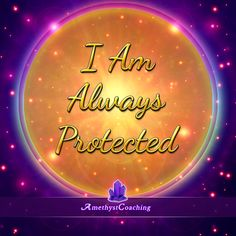 Today's Affirmation: I Am Always Protected <3 #affirmation #coaching It is not enough just to repeat words, while repeating the affirmation, feel and believe that the situation is already real. This will put more energy into the affirmation.