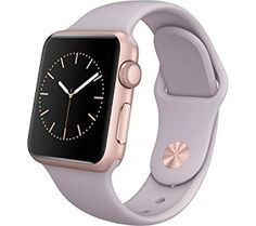 Apple Watch 42mm Rose Gold Aluminium Case with Stone Sport Band (Rose Gold Stone) Click to buy on Amazon!  Women's Smart Watches for Sport, Fitness and Fashion - http://amzn.to/2jYX1qx