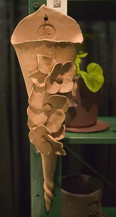 Woodlands Garden Pottery -- Wall Pockets