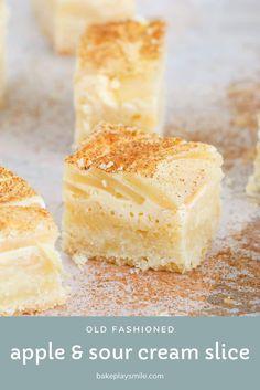 Baked Apple Dessert, Apple Dessert Recipes, Apple Recipes, Sweet Recipes, Baking Recipes, Delicious Desserts, Yummy Food, Tea Cakes, Food Cakes