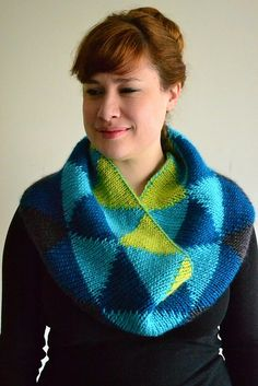 Honors Geometry Cowl by katiecanavan.