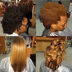 Pressed Natural Hair, Natural Hair Tips, Natural Hair Journey, Natural Hair Styles, Natural Hair Silk Press, My Hairstyle, Girl Hairstyles, Love Hair, Gorgeous Hair