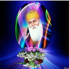 🌹🍃🌷Waheguru ji🌷🍃🌹 Guru Nanak Ji, Nanak Dev Ji, Baba Deep Singh Ji, Sri Guru Granth Sahib, Guru Gobind Singh, Punjabi Culture, Great King, Indian Gods, Gods And Goddesses