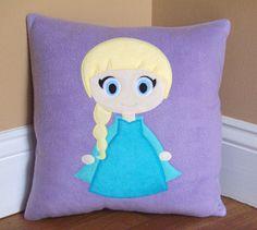 Elsa Pillow by My3SillyMonkeys on Etsy