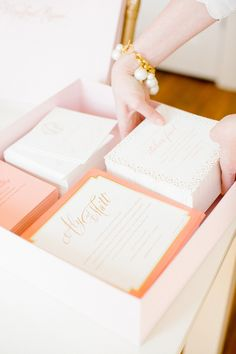 Photography : Kimberly Chau   Invitations : Winifred Paper Studio Tour Read More on SMP: http://www.stylemepretty.com/living/2014/09/30/behind-the-scenes-with-winifred-paper-studio-tour/