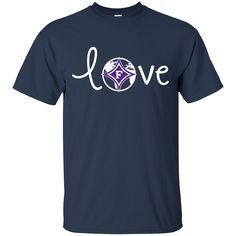 Furman Paladins T shirts Love Hoodies Sweatshirts