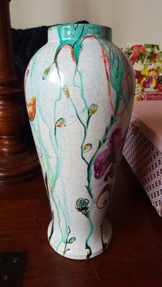Expressionism, Vase, Paintings, Color, Home Decor, Decoration Home, Paint, Room Decor, Painting Art