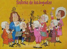 """Estupendo recurso para trabajar la audición de la obra """"La Sinfonía de los juguetes"""" de Leopold Mozart. Es un recurso en catalán de Flora Terensi. CLic en la imagen para acceder."""