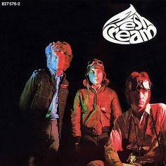 Cream - Fresh Cream (Vinyl, LP, Album) at Discogs Fresh Cream, Band Posters, Classic Rock, Design Elements, Retro, Sweet Wine, Lp Album, Top 40, Eric Clapton