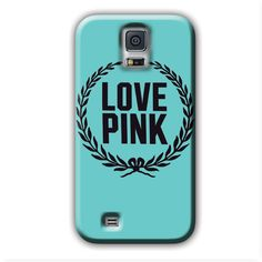 Latest Pink Love Laurels Galaxy S5 Cases