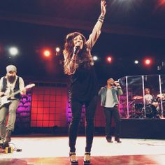 Friend in my Head!!! Love her worship, her style, and HER HAIR!!!! Pretty awesome....