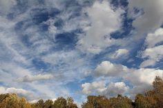 Осеннее  небо. Фото  Е.  Александровой.