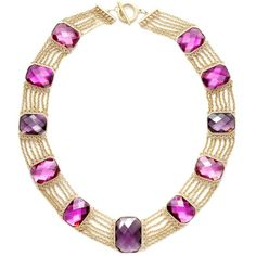 Lauren By Ralph Lauren Necklace, Noble Estate Multi Row Station... ($34) ❤ liked on Polyvore featuring jewelry, necklaces, ralph lauren, women, lauren ralph lauren jewelry, station necklace, gold colored necklace, rectangle necklace and gold tone necklace