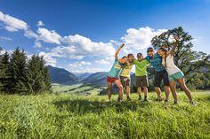 Spaß in der Natur in Flachau - DIE BERGQUELLE *** © www.bergquelle-flachau.at