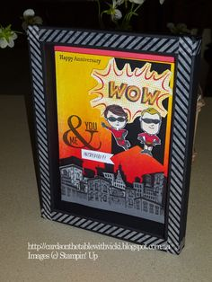 Featuring: Everyday Hero Stamp set and Shadow Box Card.   It was our Wedding Anniversary last week.  I wanted to use the Everyday Hero Set  ...