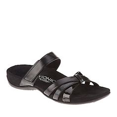 Vionic with Orthaheel Technology Zora Slide Sandals :: Wellness Shoes :: Shop now with FootSmart