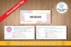 LuLaRoe Gift Certificates in Squares 105 by Blue Aspen Studio
