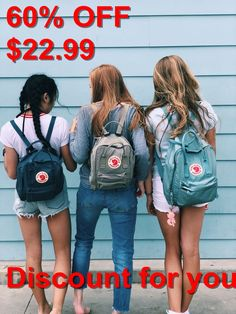 Fjallraven Kanken Backpack #Kanken, #Fjallraven, #Backpack Insta Pictures, Bff Pictures, Friends Are Like, Real Friends, Bff Goals, Best Friend Goals, Friend Group Pictures, Editing Pictures, Summer Photos