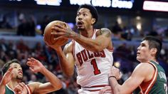 Derrick Rose scores 23 points in first playoff game since 2012