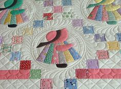 The Sunbonnet Sue quilt pattern is classic favorite. Sunbonnet Sue features an applique design stitched on a traditional quilt or made into blocks. Sunbonnet Sue, along with her buddies, Fisherman Fred and Suspender Sam, became charming illustrations in schoolbooks and taught little ones how to read. Sunbonnet Sue could be …