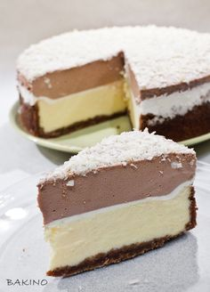 Polish Desserts, Polish Recipes, Cookie Desserts, No Bake Desserts, Sweet Recipes, Cake Recipes, Dessert Recipes, Cheesecake, Just Cakes