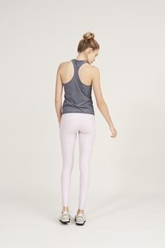 The Warmup Leggings in Chalk Pink from Outdoor Voices. Activewear. Click on the link above and shop now.