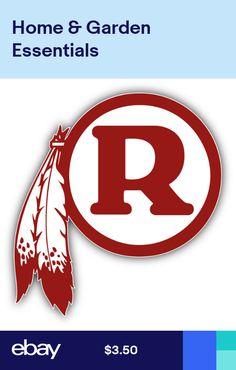 Washington Redskins Symbol Logo Car Bumper Sticker Decal - 3 5 or 6