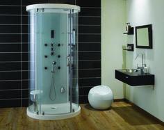 Free Standing Round Shower Stall