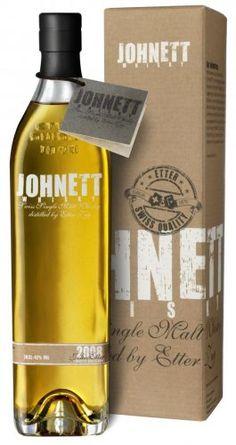 Johnett Single Malt Whisky distilled 2008, Switzerland