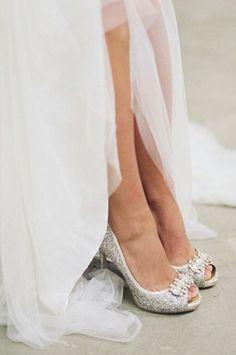 wedding shoes idea; photo: Luna De Mare