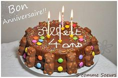 Birthday cake for children with chocolate and sweets Cake Designs For Kids, Cool Cake Designs, Candy Birthday Cakes, Big Chocolate, Chocolate Sweets, Chocolate Recipes, Gravity Cake, Cakes For Boys, Food Cakes