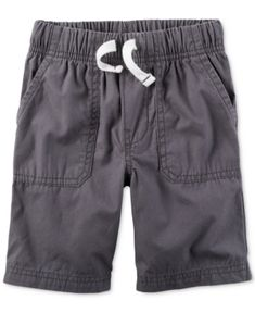 Carter's Grey Shorts, Toddler Boys (2T-4T) - Gray 2T