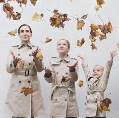 Mother And Daughter Have Matching Outfits Cute Family, Fall Family, Mom Daughter Matching Outfits, Mother Daughter Photography, Mommys Girl, Anniversary Photos, Family Photography, Family Photos, Golden Leaves