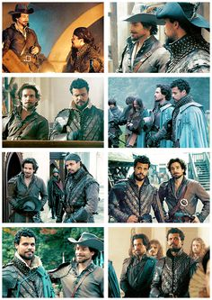 The Musketeers - Porthos Week    Day Two    Favourite Relationship: 'Porthos & Aramis'