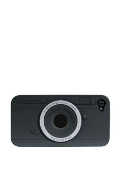 iPhone 4 case $5  - Looks like a real camera  - Durable rubber case fits iPhone 4  - Accommodates camera lens and flash