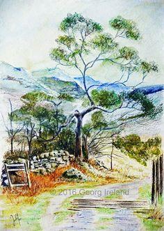 country life - Georg Ireland Digital Painting