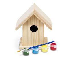 mal dit eget fuglehus - fuglehus - mal selv - dekorer - lille fuglehus - fra 3 år