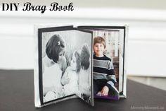 DIY Brag Book ~ A Great DIY Christmas Gift!