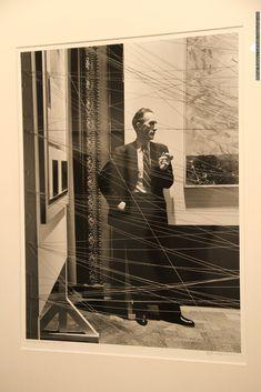 Арнольд Ньюман. Марсель Дюшан, художник, скульптор, писатель, 1942