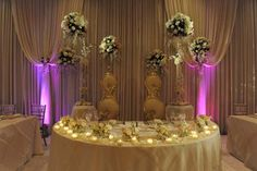 bride and groom table ideas | Bride, Groom, Bridal Party, Flowers, Decorations, Wedding decorations ...