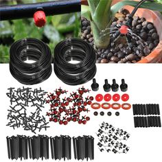==> [Free Shipping] Buy Best 92m Micro Drip Irrigation Self Watering Automatic System Kit Set Drippers For Plant Garden Greenhouse Online with LOWEST Price | 32822753530