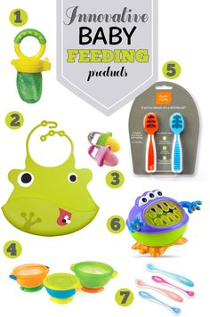 Innovative baby feeding products. Awesome ideas here.