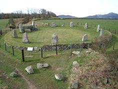 Easter Aquhorthies stone circle, Aberdeenshire, Scotland