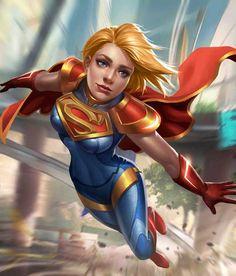 Supergirl from Injustice 2 Mobile Supergirl 5 Marvel Dc Comics, Heros Comics, Comics Girls, Marvel Vs, Marvel Heroes, Supergirl Comic, Injustice 2 Supergirl, Dc Injustice, Batgirl
