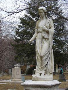 Hygeia, By Edmonia Lewis, Mount Auburn Cemetery