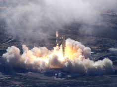 Delta II Rocket Lifts off From Vandenberg Air Force Base.