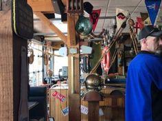 Interior view, Dinghy Dock Pub & Floating Restaurant 8 Pirates Lane, Nanaimo, British Columbia
