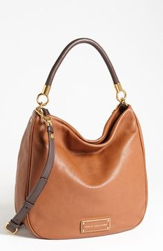 MARC BY MARC JACOBS Too Hot to Handle Hobo, Medium available at #Nordstrom Love this in the deep teal color. Love Hobo style