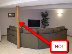 20 best support beam makeover images basement renovations rh pinterest com