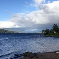 The sun came out to chase the clouds away from a windswept Loch Rannoch #lochrannoch #scotland #timelapse #